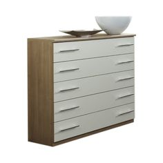 Aspire Wide 5 Drawer Chest A