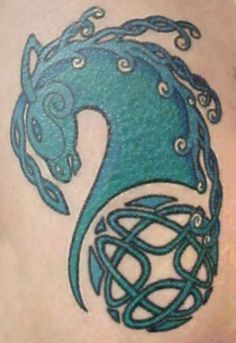 celtic horse   celtic horse design