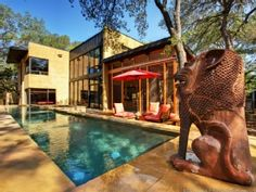 Austin House Rental: Bali Meets Austin In This Spectacular Artist's Retreat 14 Min. To Downtown | HomeAway Luxury Rentals