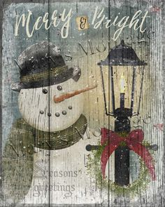 Snowman, Merry & Bright ,8x10, Printable download.  Download, printable Art, 8x10. 1 300 DPI jpeg file available for instant download.   An additional size of 8.5x8.5 has been added!   Printable Files, Terms of Use:  You CAN: 1. Print files for personal use. 2. Give away a print as a gift 3. Use printable files for SMALL commercial use. This is limited to no more than 50 copies per listing. Your products may be sold on Etsy, Ebay, or other online stores, craft shows & in your personally…