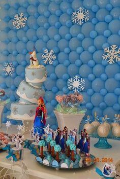 Frozen Themed Birthday Party Ideas Planning Decor Cake Snowman