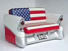 Furniture with Car Parts