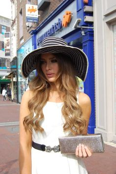 Love this hat on the gorgeous Rozanna Purcell