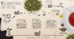 The Industrial Cup of Tea Infographic