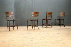 vintage uhl toledo standard chairs | factory 20.