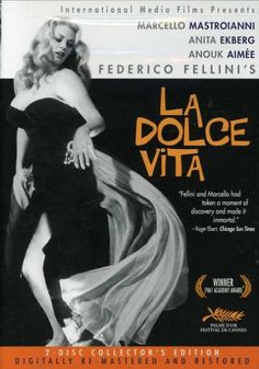 Fellini's absolute masterpiece on decadence. Incredible scenes, settings, and complex storytelling. A must-see for any movie buffs.