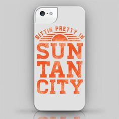 Sittin Pretty in Sun Tan City iPhone 4 / 4S / by HowdyGirlClothing, $28.00