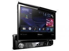 """DVD Automotivo Pioneer AVH-X7880TV Tela 7"""" - TV Digital Bluetooth 3.0 Entrada USB com as melhores condições você encontra no Magazine Sualojaverde. Confira!"""