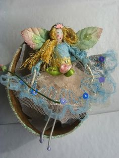 betty bib's fairyware, hand made fairies and fairy paintings: March 2011