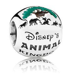 Disney Animal Kingdom Theme Park Charm Pandora Sterling Silver New