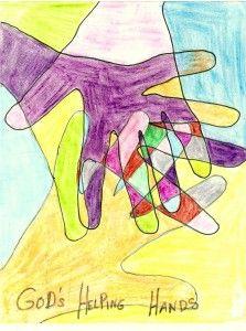Helping Hands - Volunteer Breakfast Poster