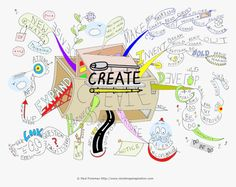 The Create mind map created by Paul Foreman will help you uncover your own unique creative ideas and encourage positive change.