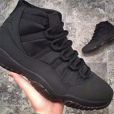 best website 8c382 12fab Black J s Basket Style, Black Jordans, Retro Jordans 11, Shoes Jordans, Nike
