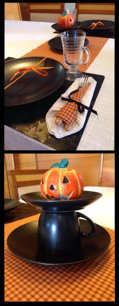 Mesa posta halloween