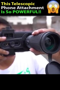 Our Monocular Telescope is amazing for capturing wildlife and magnification in high definition. Keep it in your pocket - see something amazing? This can zoom in 1000 yards giving you a crisp clo Clever Gadgets, Cool Gadgets To Buy, Gadgets And Gizmos, Home Gadgets, Tech Gadgets, Kitchen Gadgets, Technology Updates, Technology Gadgets, Cool Inventions