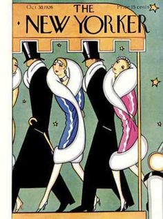 Love it. Vintage The New Yorker.