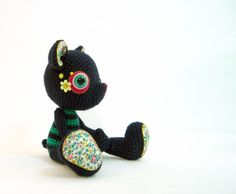 Check out the super design styles of Gourmet Amigurumi! Beth has a flickr site also that highlights her incredible work.