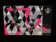 South Korea Starbucks card 2013