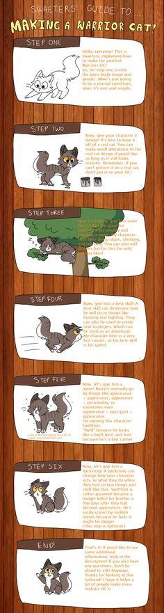 Guide To Making A Warrior Cat OC by swaeters.deviantart.com on @DeviantArt