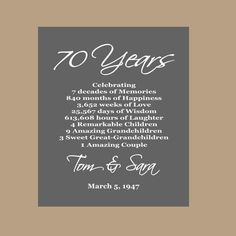 This item is unavailable 50th Anniversary Quotes, Mom Dad Anniversary, Wedding Anniversary Wishes, One Year Anniversary Gifts, Funny Anniversary Cards, Anniversary Invitations, Anniversary Parties, Anniversary Ideas, Wedding Wishes