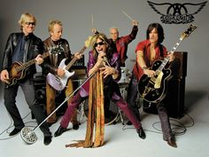 """According to Aerosmith guitarist Joe Perry, lead singer Steven Tyler has quit the band. """"Steven quit as far as I can tell,"""" Perry tells the Las Vegas Sun. Rock Roll, Rock And Roll Bands, Rock Bands, Metal Bands, Good Charlotte, Blues Rock, Woodstock, Music Is Life, My Music"""
