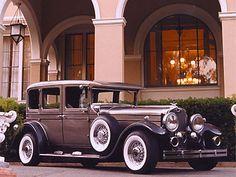 1956 Rolls Royce Sedan Wedding Transportation