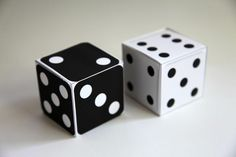 Print and Fold Dice Gadget World, Just For Fun, Dice, Gadgets, Geek Stuff, Fantasy, Store, Board Games, Geek Things