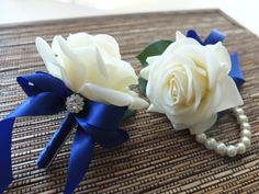 2016 corsage for royal blue dress - Google Search