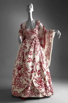 Valentino Dress with hand painted flowers