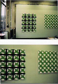 textileprint pixelflower, amsterdam 1996