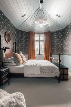 Cool Kids Rooms, Kids Room Paint, Cozy Bedroom, Dream Bedroom, Girls Bedroom, Bedroom Decor, Real Life Princesses, Chris Loves Julia, Kids Room Wallpaper