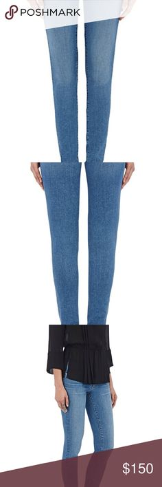 L'Agence denim Chantal jeans 29 $226 NWT L'Agence's Chantel jeans are cut from soft stretch denim that's engineered to retain its shape even after continued wear. Sits low on hips. Features the labels signature contour waistband- it flexes with your body for complete coverage when u bend or move. Brand new with tags L'AGENCE Jeans Skinny