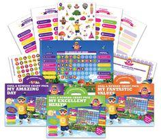 Reward charts for kids from Elfie Love - http://babyology.com.au/gadgets/reward-charts-for-kids-from-elfie-love.html