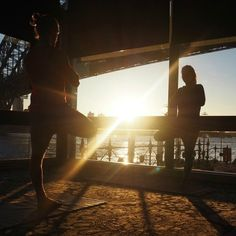 Sunrise yoga at Autograph Hotel's Pier One Sydney