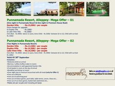 Punnamada Resort, Alleppey - MEGA OFFER