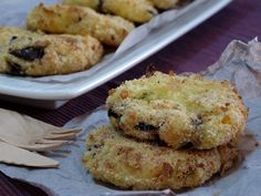 polpette di verdure senza uova Lactose Free, Dairy Free, Vegetable Side Dishes, Frittata, International Recipes, Healthy Cooking, Food For Thought, Finger Foods, Vegan Recipes