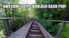 Boulder Dash Roller Coaster POV Awesome 60FPS Lake Compounce