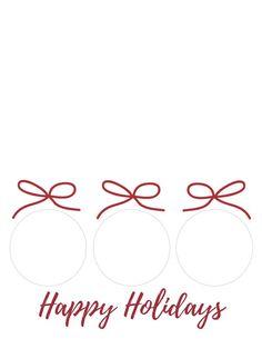 Plaid Pop-up Christmas Ornament Card Printable Plaid | Etsy Paper Christmas Ornaments, Christmas Tree Cards, Printable Christmas Cards, Plaid Christmas, Card Templates Printable, Printable Invitations, Happy Holidays, Pop, Handmade Gifts