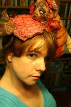 Costume idea -- Zombie Cat Lady!