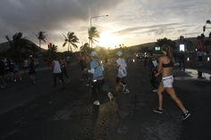 Honolulu sunrise running