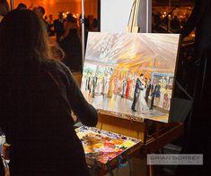 You should hire a live event painter!