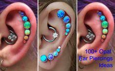 MyBodiArt ~ Articles ~ 100+ Opal Ear Piercing Jewelry Ideas ~ Shopify