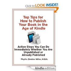 Thinking about self-publishing a book? Confused about the ebook options?  This very short ebook will give you the important information to help you make a decision and then to implement and market your ebook.