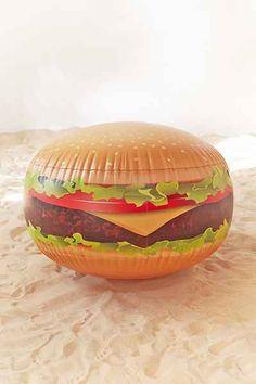 Cheeseburger Beach Ball - Urban Outfitters