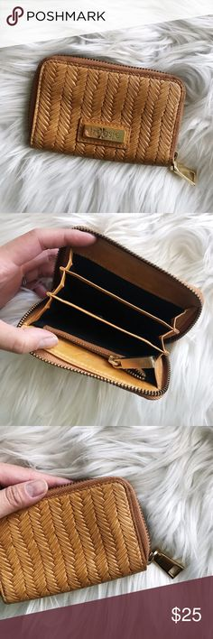 Treesje Yellow Straw Style Zip Wallet • brand: treesje  • condition: used once, like new  • size: full zip  • description: straw style wallet with gold zip   • bundle to save 💵! no trades/holds/try-ons. will try to answer all questions asap. no price negotiations in comments.  ✨happy shopping!✨ Treesje Bags Wallets