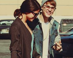 Cute couple #belieber #selena