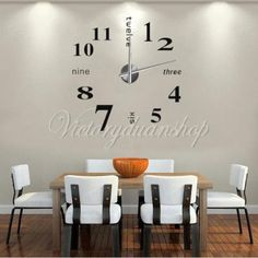 #Luxury 3d diy wall clock extra #large home room decoration art #design clock,  View more on the LINK: http://www.zeppy.io/product/gb/2/391118351463/