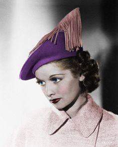 Lucille Ball, 1930s.