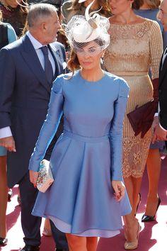 María José Suárez Prom Party Dresses, Cute Dresses, Vintage Dresses, Wedding Dresses, Wedding Guest Style, Royal Clothing, Smart Outfit, Diva Fashion, Maternity Fashion