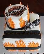 An old friend (as in from Elementary school) asked me to create a Harley Davidson cake for her boyfriend's surprise birthday party. Harley Davidson Cake, Harley Davidson Birthday, Cupcakes, Cupcake Cakes, Fondant Cakes, Dad Birthday Cakes, Birthday Ideas, 9th Birthday, Birthday Parties